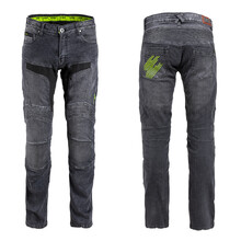 Men's Motorcycle Jeans W-TEC Alfred CE - Grey