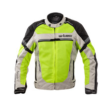 Men's Summer Motorcycle Jacket W-TEC Saigair - Fluo Yellow-Gray