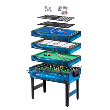 Multi Game table WORKER 10-in-1