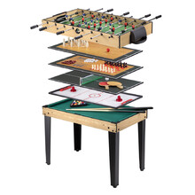 Multi Game Table WORKER Amasor 10-in-1