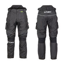 Men's Motorcycle Pants W-TEC Thollte - Black