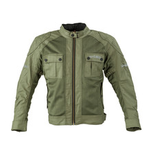 Men's Motorcycle Jacket W-TEC Rotenhan - Deep Forest Green