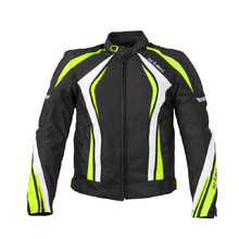 Men's Motorcycle Jacket W-TEC Chagalero - Black-Yellow-White