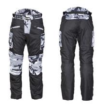 Men's Motorcycle Pants W-TEC Kaamuf - Black Camo