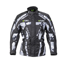 Men's Motorcycle Jacket W-TEC Troopa - Black Camo