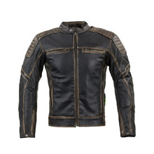 Leather Motorcycle Jacket W-TEC Mungelli