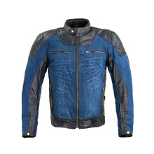Motorcycle Jacket W-TEC Kareko - Blue