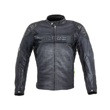 Motorcycle Jacket W-TEC Metalgy - Black