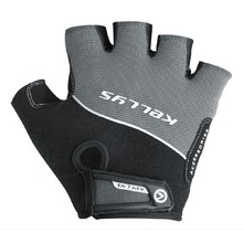 Cycling Gloves Kellys Race - Grey