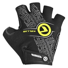 Cycling Gloves KELLYS COMFORT NEW - Black-Lime