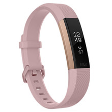 Fitness Tracker FITBIT Alta HR Pink Rose Gold