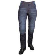 Woman moto jeansy ROLEFF Aramid Lady - Blue