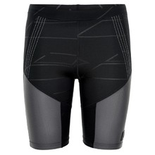 Women's Compression Elastic Shorts Newline Black Impact Sprinters - Black