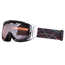 Ski Goggle WORKER Bennet with Graphic Print - Black Graphics