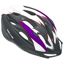 Cycling Helmet Kellys Blaze - White-Purple