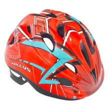 Children's Bicycle Helmet KELLYS BUGGIE - Red-Blue
