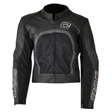 Leather Jacket Ozone Evotec - Black