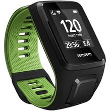 GPS Watch TomTom Runner 3 Cardio - Black-Green