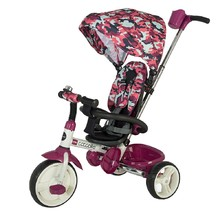 Three-Wheel Stroller/Tricycle with Tow Bar Coccolle Urbio Army - Pink