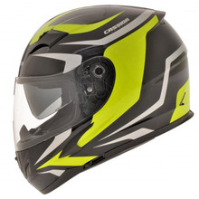 Motorcycle helmet Cassida Integral 2.0 black-gray-yellow fluo