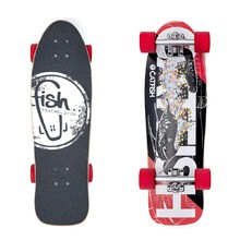 Mini Longboard Fish Old School Cruiser Catfish 28""