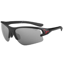Running Sunglasses Cébé Across - Black-Red