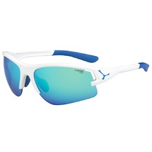 Running Sunglasses Cébé Across - Blue-White