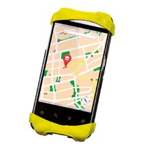 Handlebar Phone Holder Roto Silicone - Yellow
