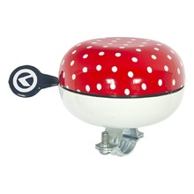 Bicycle Bell Kellys 80 - Red Dots