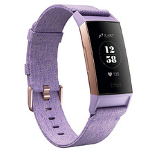 Fitness Tracker Fitbit Charge 3 Lavender Woven