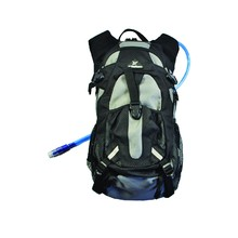 Backpack with Hydration Pack Rebelhorn Trial - Black-Grey