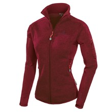 Women's Sweatshirt FERRINO Cheneil Jacket Woman New - Bordeaux