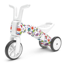 Children's Tricycle – Balance Bike 2in1 Chillafish Bunzi FAD - When Monsters Meet Stars