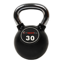 Rubber-Coated Dumbbell inSPORTline Ketlebel Profi 30 kg