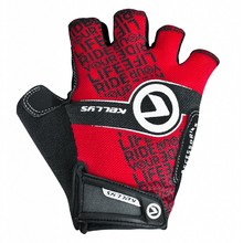 Cycling Gloves KELLYS COMFORT NEW - Red