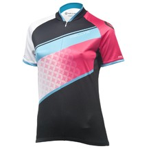 Women's Cycling Jersey Kellys Jody – Short Sleeve - Coral-Azure