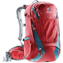 Cycling Backpack DEUTER Trans Alpine 30 - Red