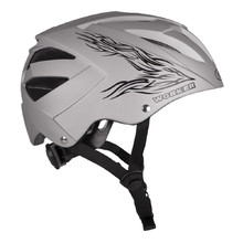 WORKER Cyclone Cycle Helmet - Silver