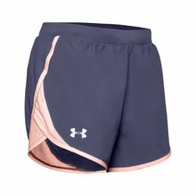 Women's Running Shorts Under Armour W Fly By 2.0 Short - Blue Ink