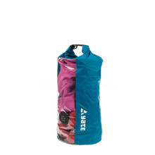 Waterproof bag with window and valve Yate Dry Bag 10l - Blue