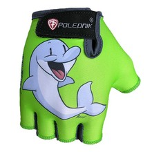 Children's Cycling Gloves POLEDNIK Baby New - Dolphin