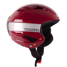 Little Gloss Ski Helmet WORKER - Burgundy
