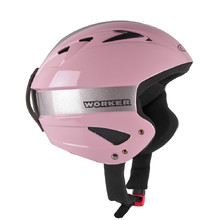 Little Gloss Ski Helmet WORKER - Pink