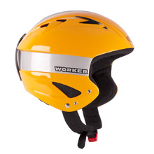 Little Gloss Ski Helmet WORKER - Yellow