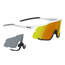 Cycling Sunglasses Kellys Dice Photochromic - White
