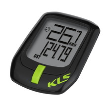 Wireless Cycling Computer Kellys Direct WL - Black-Green