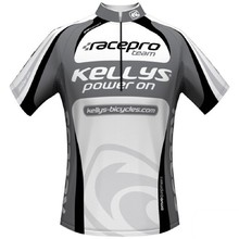 Short-Sleeved Cycling Jersey Kellys Pro Team - Grey
