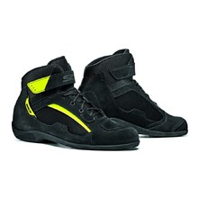 Motorcycle Shoes SIDI Duna - Black/Yellow Fluo