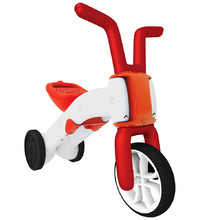 Children's Tricycle – Balance Bike 2in1 Chillafish Bunzi - Red