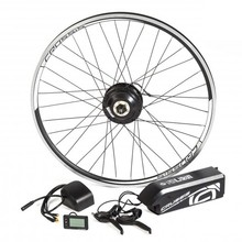 "Electric Set CRUSSIS for 26"" Bike, V-Brakes, Frame Battery"